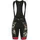 Alé Cycling Graphics PRR Camo Bibshorts Women black-strawberry